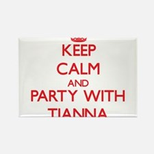 Keep Calm and Party with Tianna Magnets