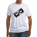 Razor Blade Fitted T-Shirt