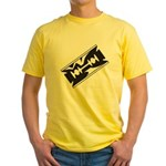 Razor Blade Yellow T-Shirt