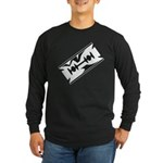Razor Blade Long Sleeve Dark T-Shirt