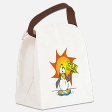 Wheres the Ice? Canvas Lunch Bag