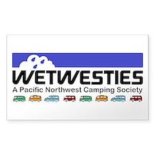 WetWesties W/ Vans Decal