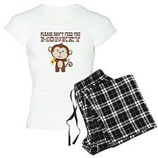 Please Dont Feed Monkey Pajamas