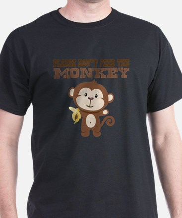 Please Dont Feed Monkey T-Shirt
