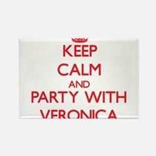 Keep Calm and Party with Veronica Magnets