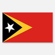 Timor-Leste Flag Decal