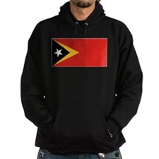 Timor-Leste Flag Hoodie (Dark)