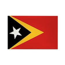 Timor-Leste Flag Rectangle Magnet