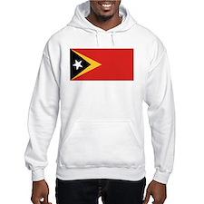 Timor-Leste Flag Hoodie