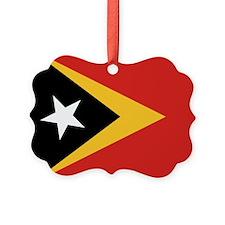 Timor-Leste Flag Ornament