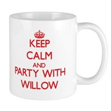 Keep Calm and Party with Willow Mugs