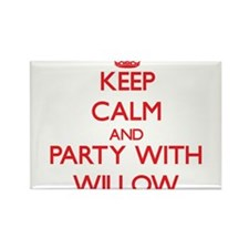 Keep Calm and Party with Willow Magnets