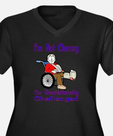 Im not Clumsy Plus Size T-Shirt