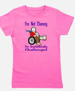 Im not Clumsy Girl's Tee