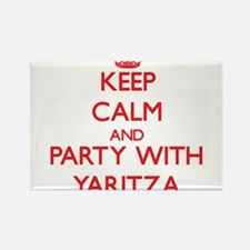 Keep Calm and Party with Yaritza Magnets