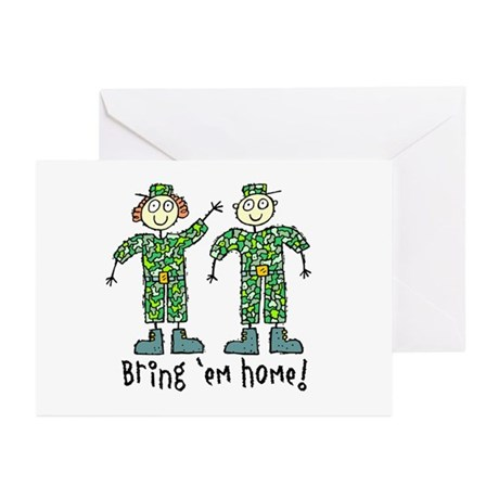 Bring 'Em Home Greeting Cards (Pk of 10)