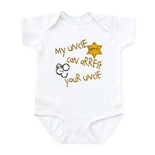 Sheriff- My Uncle Infant Bodysuit