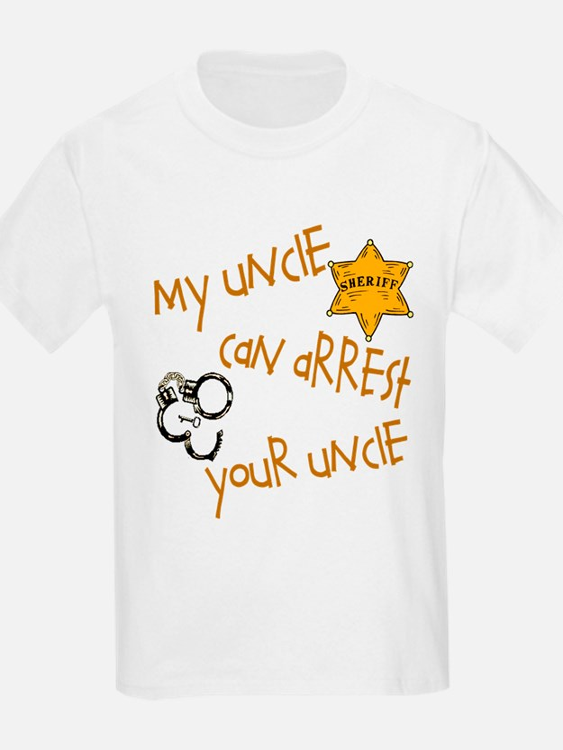 Sheriff- My Uncle T-Shirt