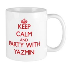 Keep Calm and Party with Yazmin Mugs