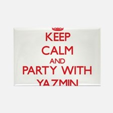 Keep Calm and Party with Yazmin Magnets