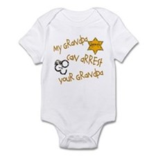 Sheriff-My Grandpa Infant Bodysuit
