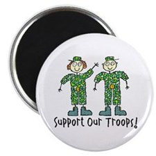 "Support Our Troops 2.25"" Magnet (10 pack)"