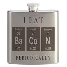 I Eat Bacon Periodically Flask