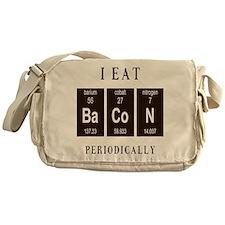 I Eat Bacon Periodically Messenger Bag