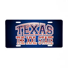 Texas XXL.png Aluminum License Plate