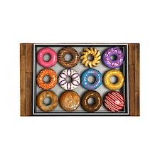 Box of Doughnuts 3'x5' Area Rug