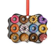 Box of Doughnuts Picture Ornament