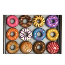 Box of Doughnuts Postcards (Package of 8)