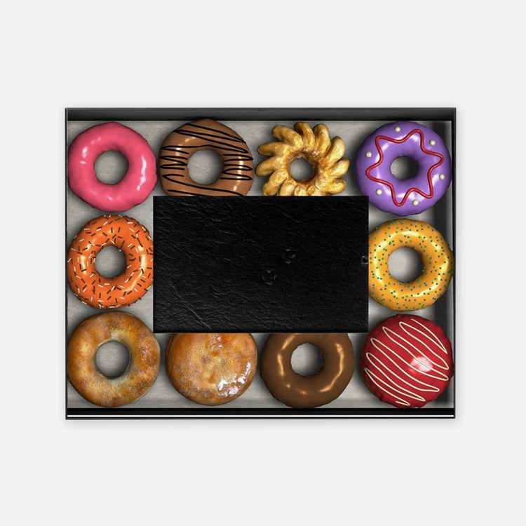 Box of Doughnuts Picture Frame