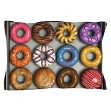 Box of Doughnuts Pillow Case