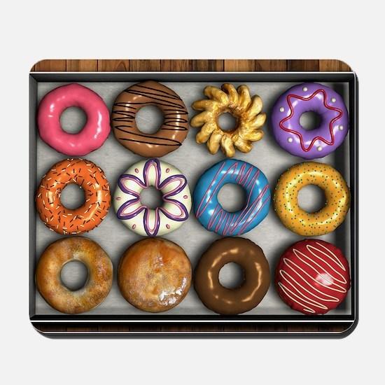 Box of Doughnuts Mousepad