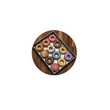 Box of Doughnuts Mini Button