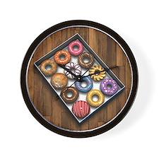 Box of Doughnuts Wall Clock