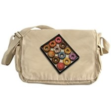 Box of Doughnuts Messenger Bag