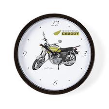 Honda 200 Motorcycle Wall Clock