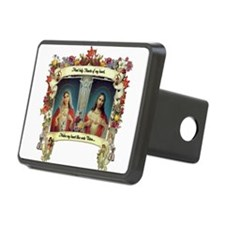 Sacred and Immaculate Hearts Hitch Cover