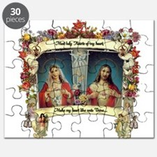 Sacred and Immaculate Hearts Puzzle