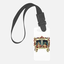 Sacred and Immaculate Hearts Luggage Tag