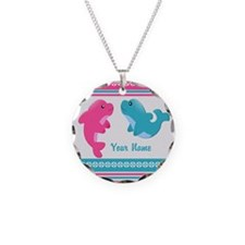 Cute Dolphin - Personalized Necklace