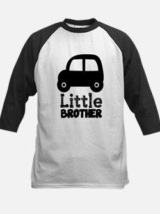 Little Brother Car Black Lettering Baseball Jersey