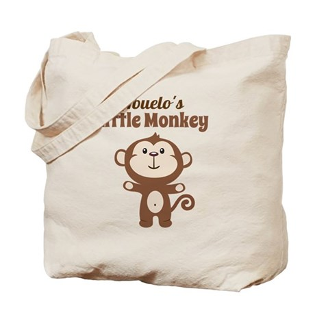 Abuelos Little Monkey Tote Bag