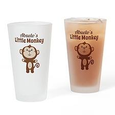 Abuelos Little Monkey Drinking Glass
