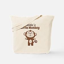 Aunties Little Monkey Tote Bag