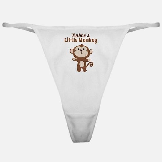 Bubbes Little Monkey Classic Thong