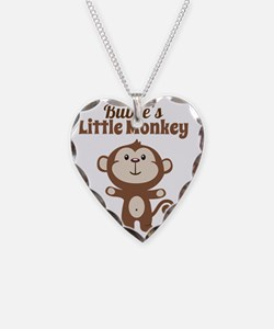 Bubbes Little Monkey Necklace