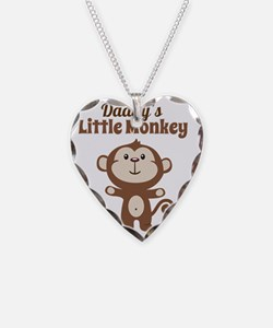Daddys Little Monkey Necklace